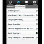 Course on iPad