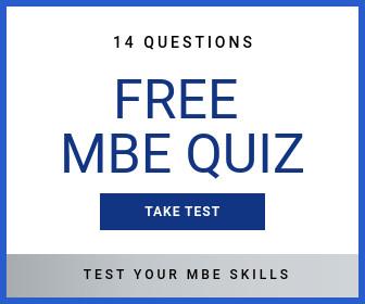 Free MBE Quiz