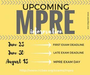 August MPRE