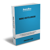 MBE Outline Book