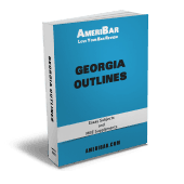 Georgia Bar Exam Outline