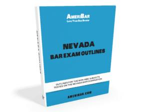 Nevada Bar Exam Outlines
