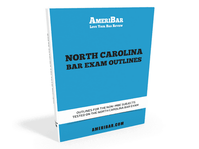 North Carolina Bar Exam Outlines