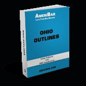 Ohio Bar Exam Outlines