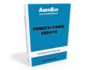 Pennsylvania Bar Exam Essays