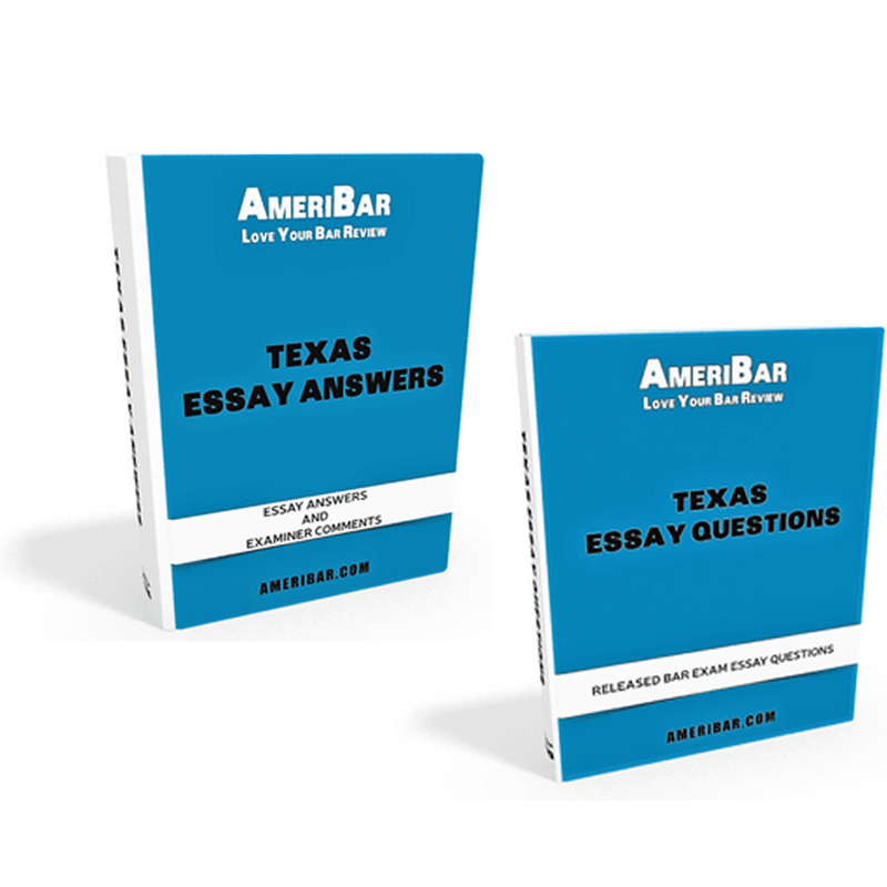 Texas Bar Exam Essay Questions