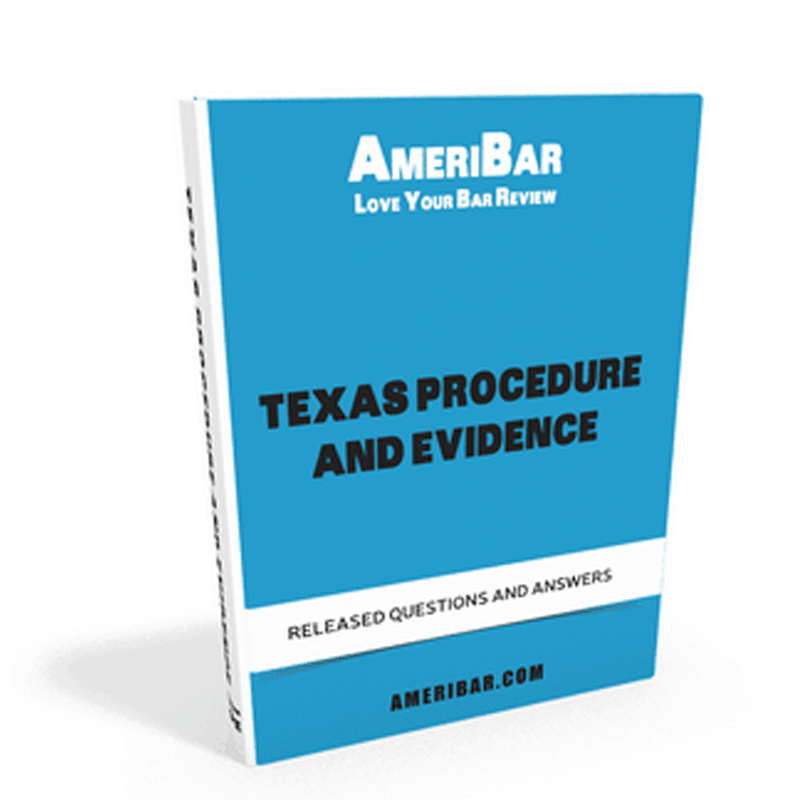 Texas Procedure and Evidence Book