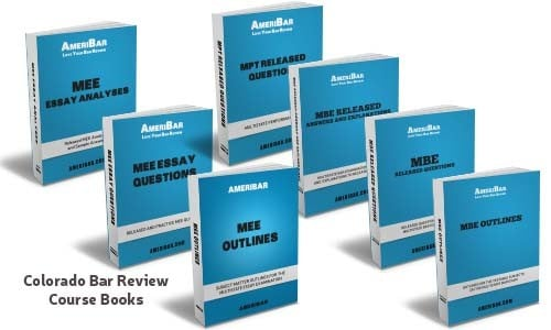 Colorado Bar Review Course Books