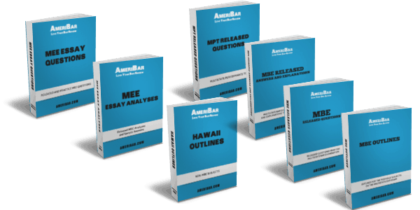 Hawaii Bar Review Course Books