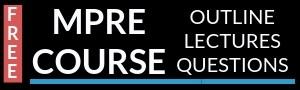 Free MPRE Course