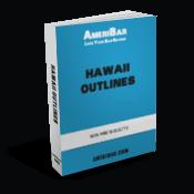 Hawaii Bar Exam Outline Book