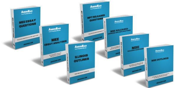 Illinois Bar Exam Course Books