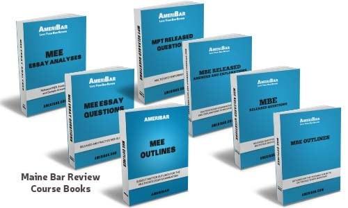 Maine Bar Review Course Books