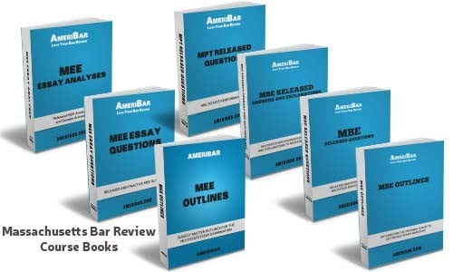 Massachusetts Bar Review Course Books