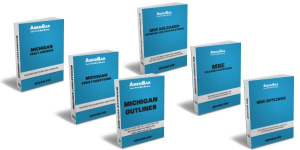 Michigan Bar Review Course Books