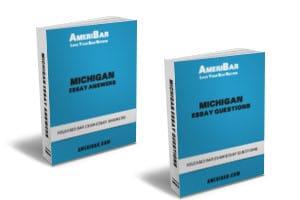 Michigan Bar Exam Essay Questions Answer Books