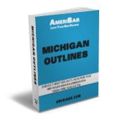 Michigan Bar Exam Outline Book