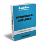 Mississippi Bar Exam Outline Book