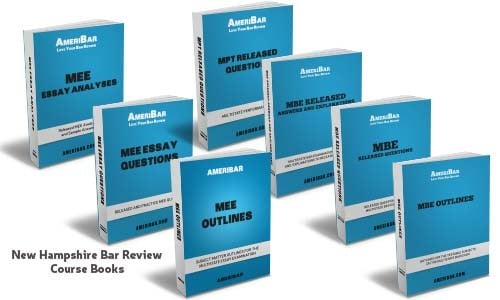 New Hampshire Bar Review Course Books