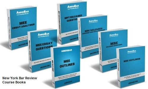 New York Bar Review Course Books
