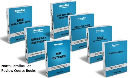 North Carolina Bar Review Course Books