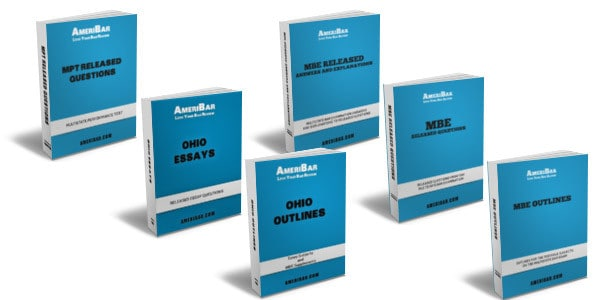 Ohio Bar Exam Course Books