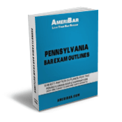 Pennsylvania Bar Exam Outline Book
