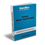 Texas Bar Exam Essay Questions Book