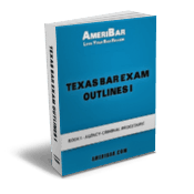 Texas Bar Exam Outline Book 1