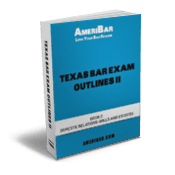 Texas Bar Exam Outline Book 2