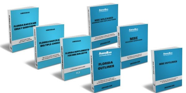 Florida Bar Review Course Books