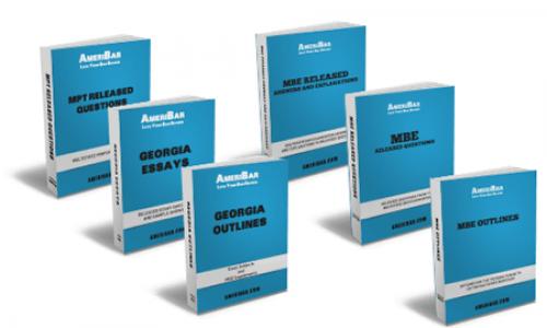 Georgia Bar Review Course Books